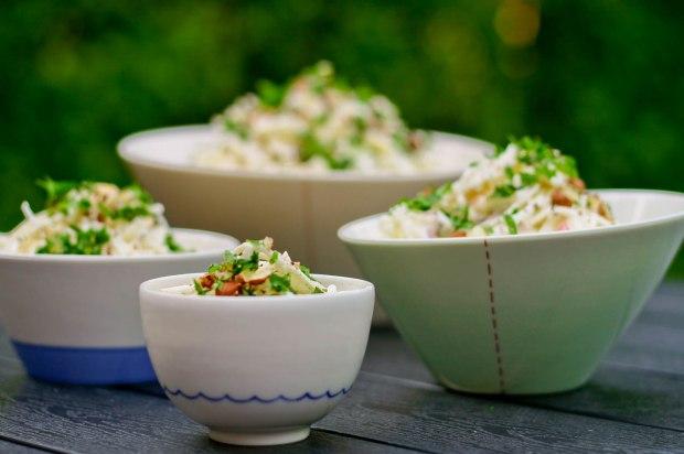 Selleri- æblesalat med hasselnødder-8