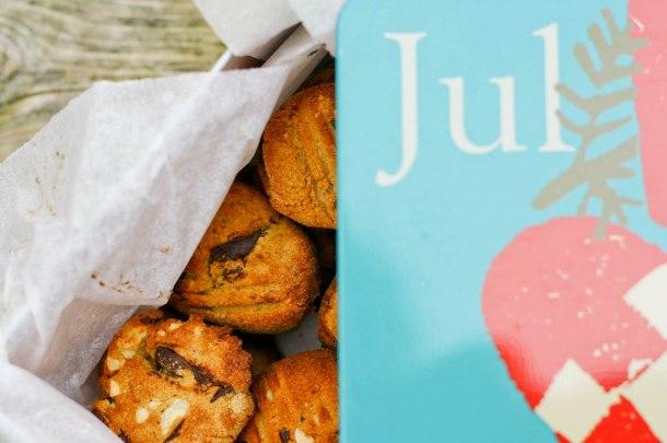 Cookies med nødder og chokolade (uden sukker og gluten)-3
