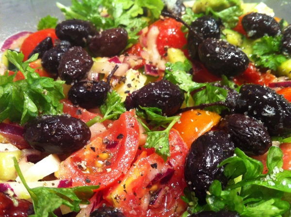 Tomat/ avocadosalat