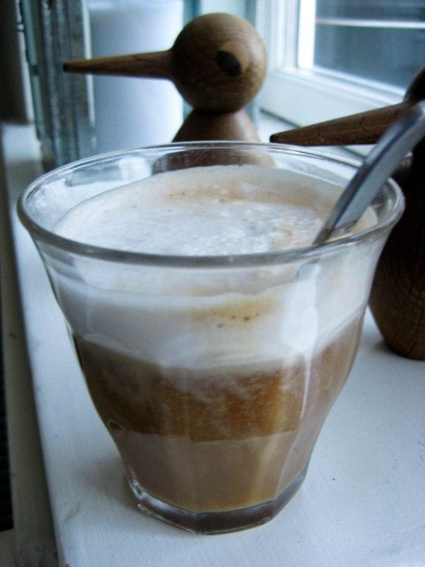 Low carb latte med kokosmælk