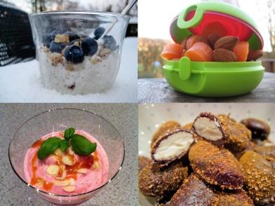 Slank med mellemmåltider på under 5 minutter