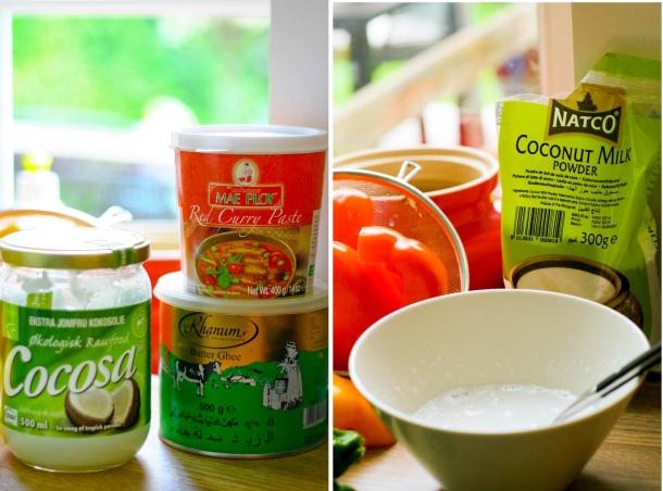 KOkosolie med smag, Ghee
