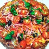 LCHF pizza - den bedste og den nemmeste