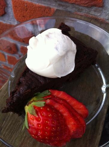 Myntechokoladekage