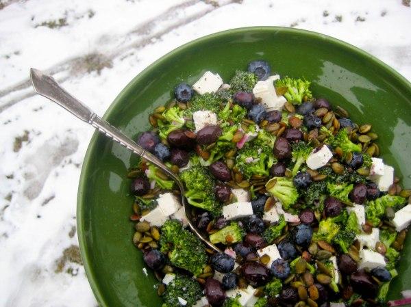Græsk broccolisalat