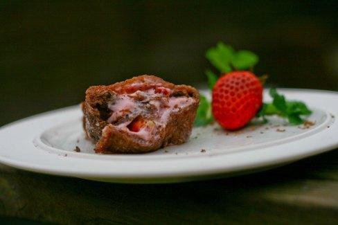 Chokolade Roulade med jordbær