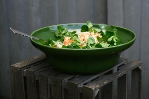 Grøn coleslaw