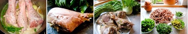 Sommerfrikassé med kalkun fra Allégaarden, fennikel, asparges og grønne ærter