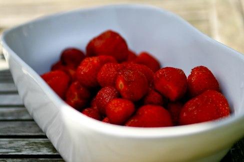 Skyr med jordbær på 3 forskellige måder
