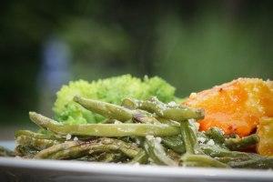 Chili-bønnefritter