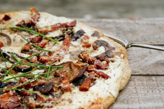 Tarte flambée - en fransk pizza