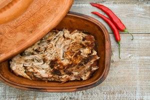 Pulled pork - med tør rub og i ovnen