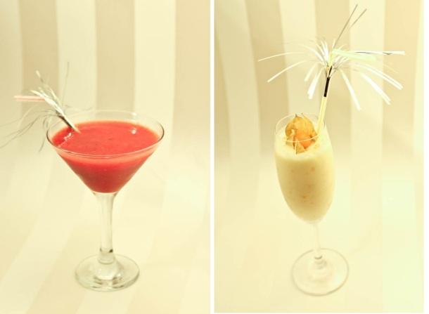 Low carb drinks - Strawberry Daiquiri og Pina Colada