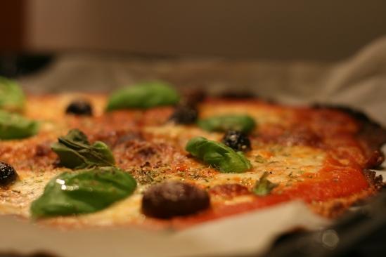 Blomkålspizza Margherita