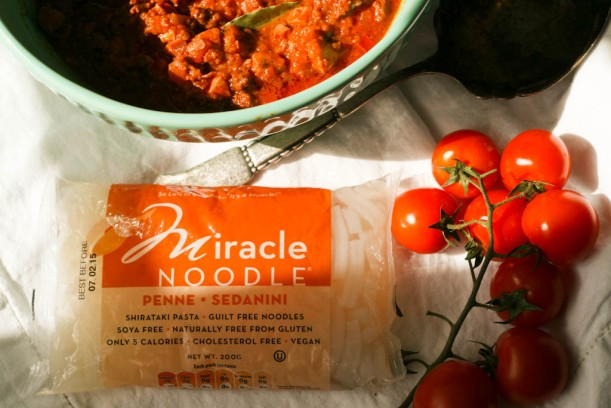 Bolognese sauce med Miracle Noodles