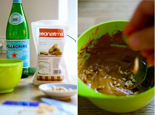Peanutbutter på 2 minutter - gluten og sukkerfri