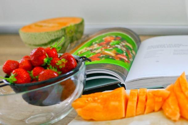 Sunde salater af Anne Hjernøe - melonsalat 2