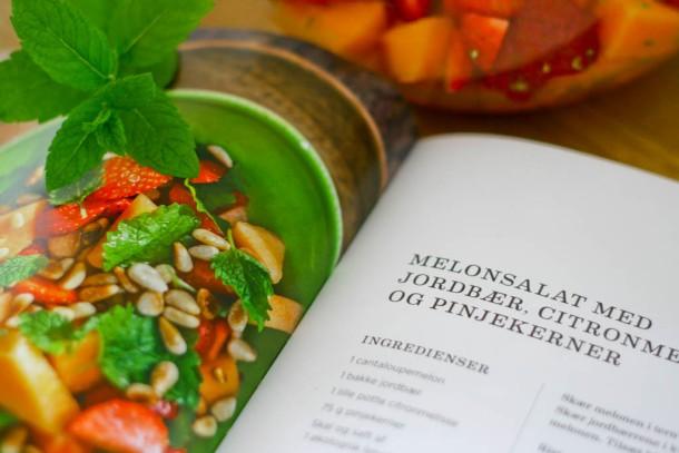 Sunde salater af Anne Hjernøe - melonsalat