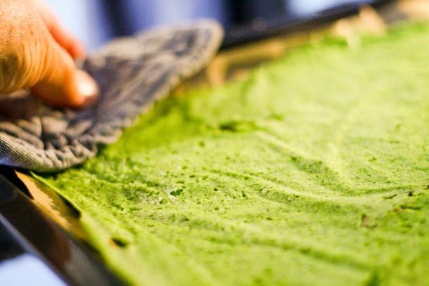Grønne LCHF  lasagneplader