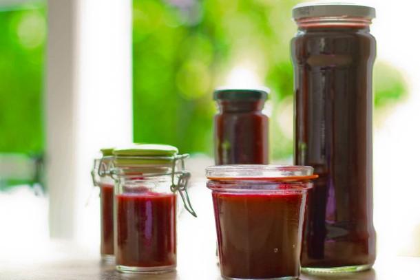 Krydret solbær- og ribsgelé uden sukker 1