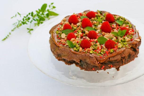 Snickers Kage uden sukker og mel