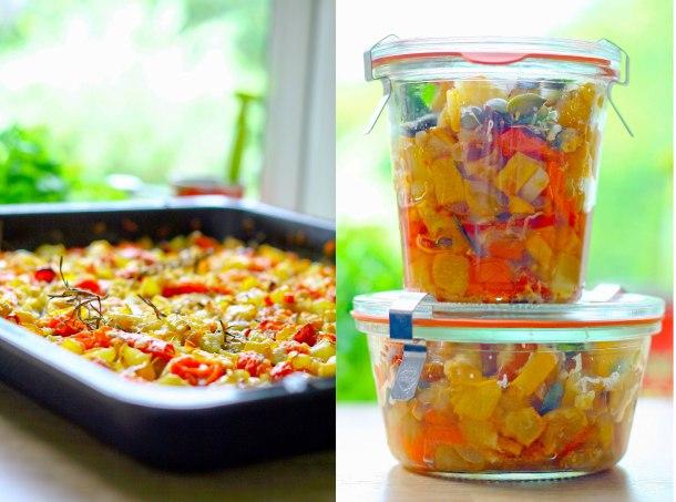 Langtidsbagt squash og tomat med parmesan-2
