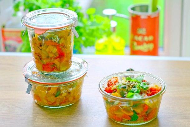 Langtidsbagt squash og tomat med parmesan-6