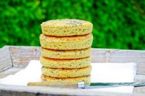 LCHF sandwich boller
