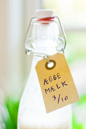Æggemælk – til at komme i kaffe ogte