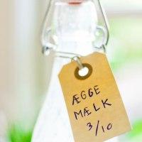 Æggemælk - til at komme i kaffe og te