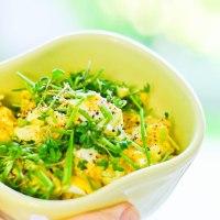 Æggesalat med karry og krydderurter