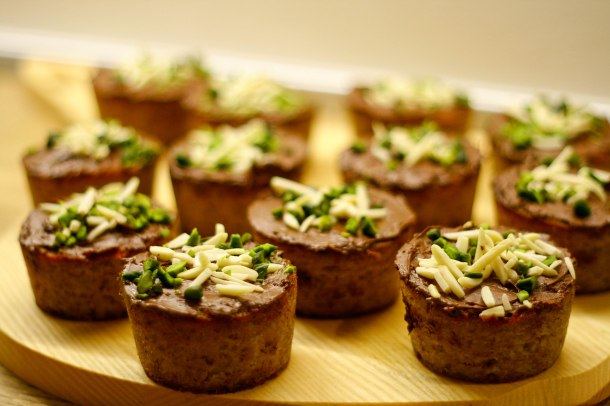 LCHF mazarin muffins