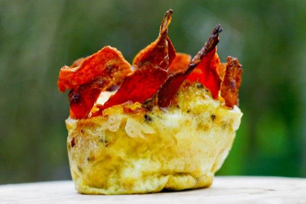Baconreder med æg og grønt-4