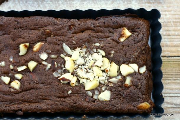 LCHF brownie med paranøddder