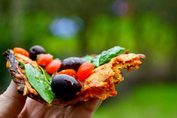 LCHF blomkålspizza med sprødere bund-5