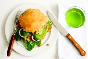 LCHF pitabrød – burgerboller-sandwichboller