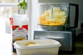 Revet ost – uden kulhydrat ogklister
