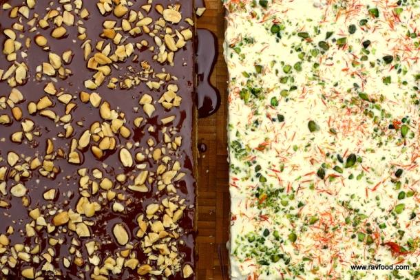 Snicker Bites med fyld af Cookie Dough
