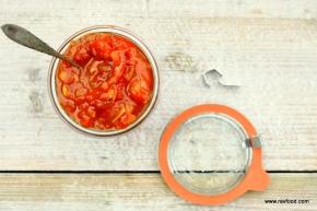 Rød peber- &tomatchutney