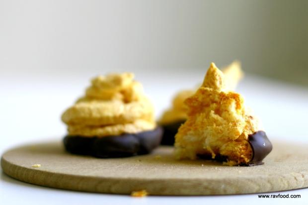 Kokosmarengs uden sukker lavet med fibersirup