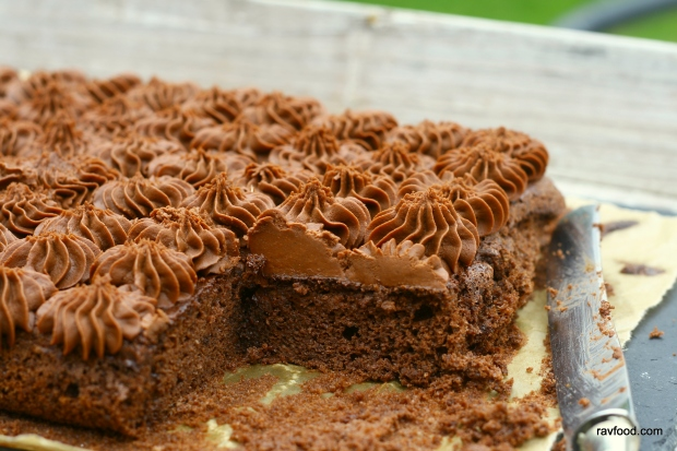 Chokoladekage sukker- og glutenfri