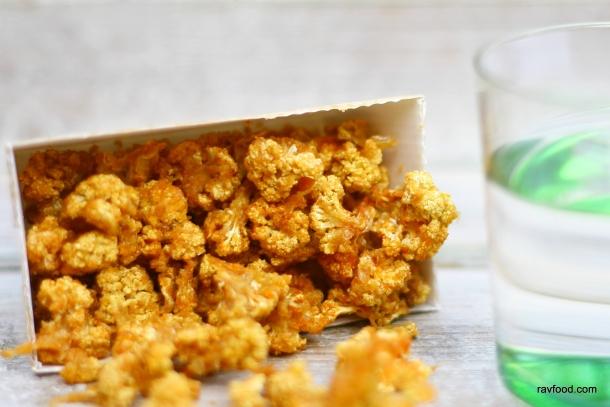 Blomkålssnack med ostesmag