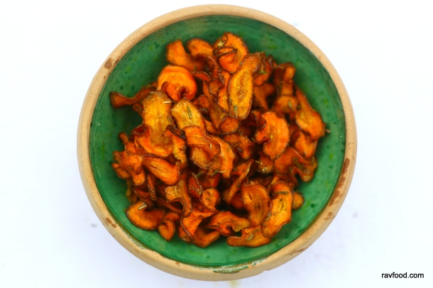 Gulerodschips
