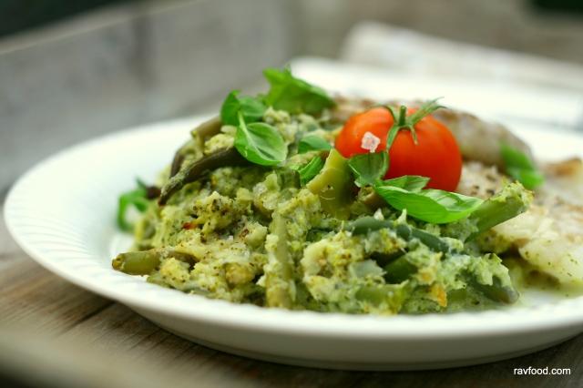 Broccolimos med haricots verts