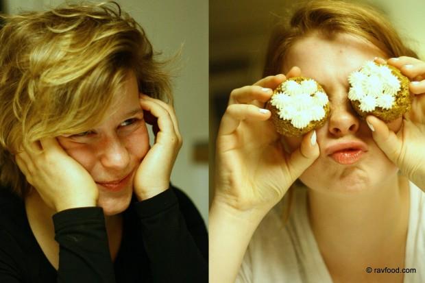 Katrine og Nina Rav
