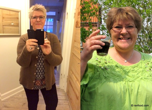 Kathe Rav før og efter