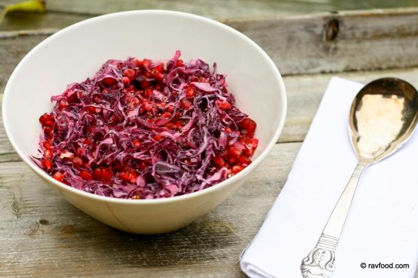 Rød coleslaw
