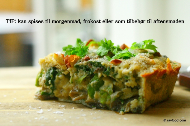 Ovnbagt omelet