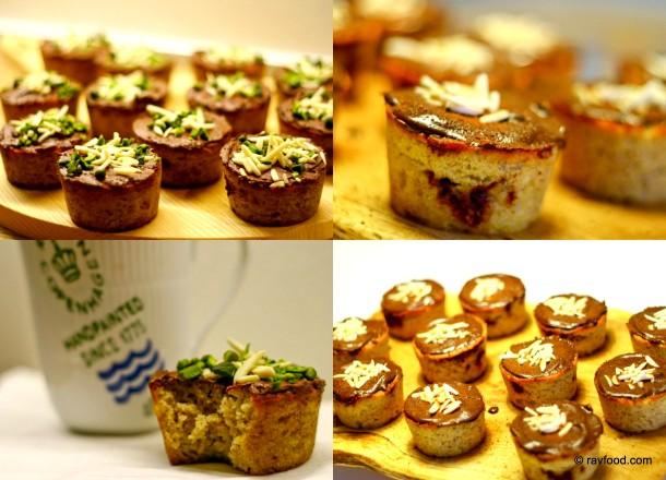 Muffins uden sukker og gluten