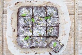 Squashchokoladekage med kanel ogkardemomme
